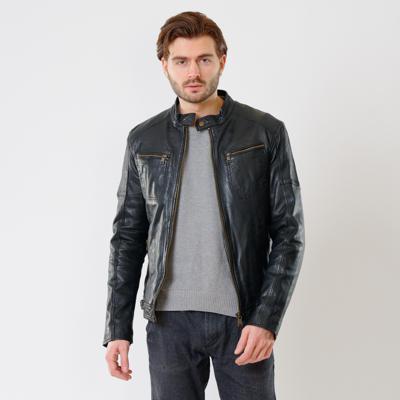 Куртка кожаная Interno42 X1521